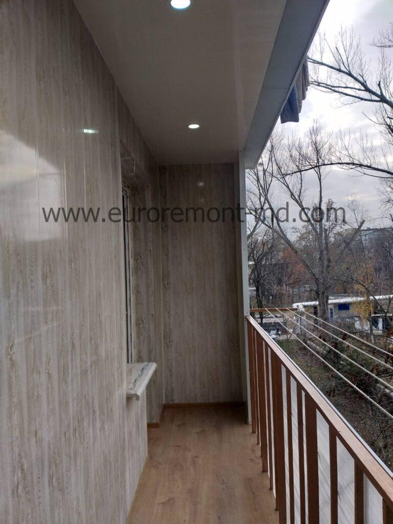 Открытый балкон Кишинев