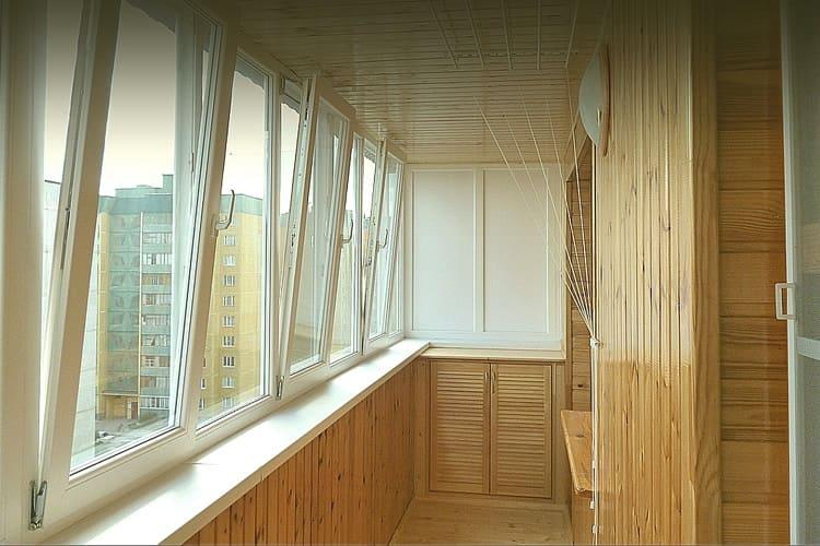 Ремонт балконов в хрущевке